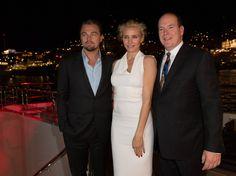 Leonardo DiCaprio at the Monaco Grand Prix Party  #MonacoVIPluxury