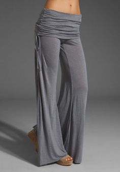 Young, Fabulous & Broke Sierra Pant in Grey from REVOLVEclothing.com