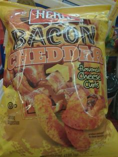 Bacon flavored and OU-Dairy... hmmm