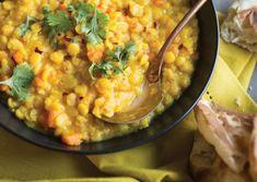 Vegan Yellow Split Pea Dal Recipe | Vegetarian Times