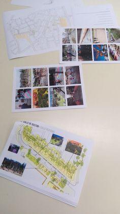 Propuestas de diseño y actividades artísitcas con niños y niñas del barrio de la Guindalera en Madrid Madrid, Photo Wall, Polaroid Film, Frame, Painting, Home Decor, Mural Painting, The Neighborhood, Proposals