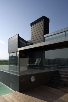 casa 2, Mungia (Spain) by   RDM Arquitectos, S.L.P  #architecture #spain #Espagne #zinc #privatehouse