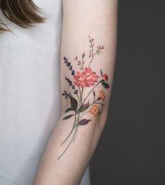 Wildflower Tattoo Ideas | POPSUGAR Beauty