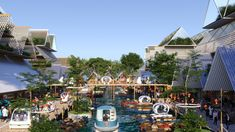 BIG, Hijjas and Ramboll selected as winners of the Penang South Islands Design Competition Central Island, South Island, Urban Landscape, Landscape Design, Landscape Architecture, Penang Island, Mangrove Forest, Island Design, Design Competitions