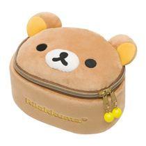 Rilakkuma brown bear plush cosmetic case bag
