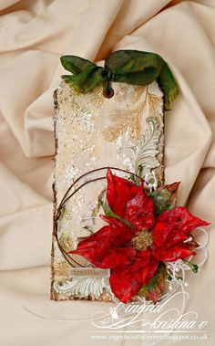 INGRID's CRAFTS CORNER: GD for 12 Christmas Tags with Loll and Friends