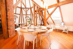 Flat in Prague, Czech Republic. Stay in our luxurious brand new four-bedroom, four-bathroom, two-living room, two-terrace Loft Apartment located in the heart of bustling Nove Mesto and situated on the 5th floor of an inviting building from the turn of the last century complete w...