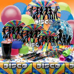 disco party supplies - Buscar con Google