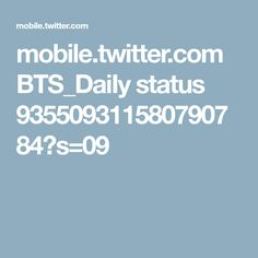 mobile.twitter.com BTS_DaiIy status 935509311580790784?s=09