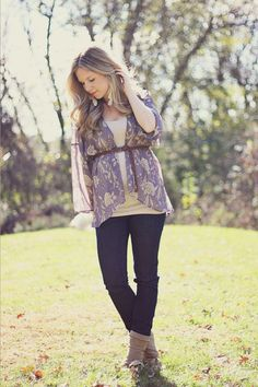 Kelly Hicks | I think her pregnancy fashion is so lovely and affordable... check out her blog!