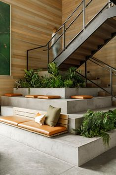 Interior Stairs, Office Interior Design, Stairs Architecture, Interior Architecture, Commercial Design, Commercial Interiors, Door Design, House Design, Tiered Seating