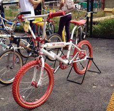 CW Racing Phaze One Old School BMX Show Bangkok