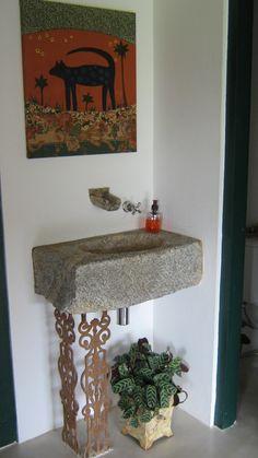 Casa Eco Cor: Pias de Pedra