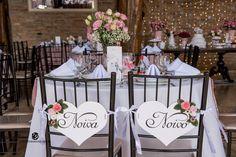 Decoração mesa dos noivos <3