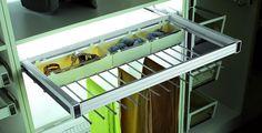 Wyposażenie garderoby z akcesoriami Elagance GTV - Sklep meblownia.pl