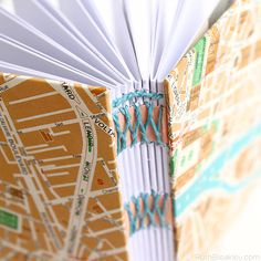 Paris Travel Journal with French Link Stitch by Ruth Bleakley