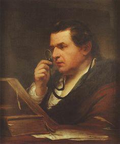 Giuseppe Baretti, door James Barry (1773)