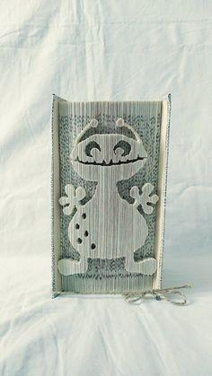 papierikovo / Milá príšerka, strašidielko - vyrobené z knihy Book Folding, Book Art, Books, Libros, Book, Book Illustrations, Libri