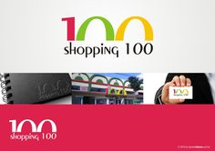 Logotipo Shopping 100.