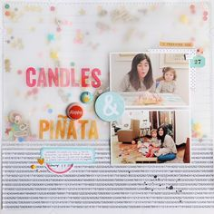 Candles & Piñata by