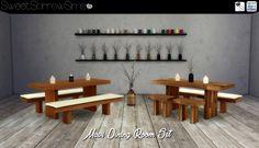 SweetSorrowSims Studio | Sims 4 Studio Mason Jar candles