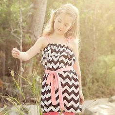 Make this sweet sundress in any size! So easy  no pattern! (via Scattered Thoughts of a Crafty Mom)