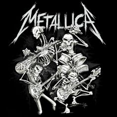 Metallica · A brand new t-shirt design from SQUINDO is now available in the Met Store at Metallica.com. http://talli.ca/metstore