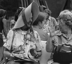 Bess Lomax Hawes and Margaret Mead