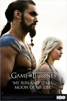 Le Trône de fer : Game of Thrones : photo Emilia Clarke, Jason Momoa