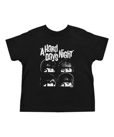 Another great find on #zulily! Black 'A Hard Day's Night' Tee - Toddler & Kids #zulilyfinds