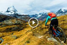 Watch: Trails That Drop Jaws Under Switzerland's Most Iconic Peak