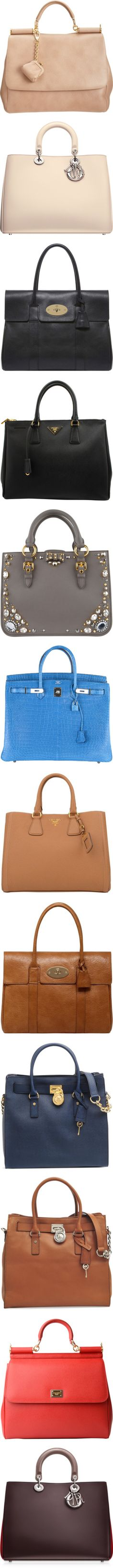 designer bags by melodynov3rd liked on polyvore