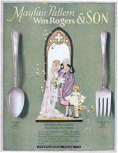 Wm. Rogers & Son Silverware, 1926