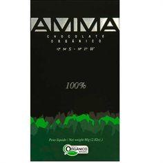 Lav 100% Chocolate kage - AMMA - Økologisk chokolade 100 %. 80 g. Glutenfri. i Chokoladehimlen.dk