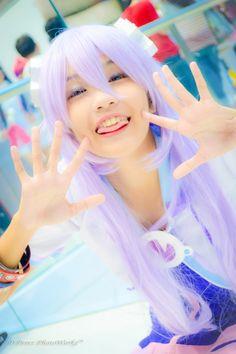 Neptunia Cosplay - D Perez PhotoWorkz Purple heart Cosplay Photo - WorldCosplay