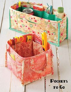 Pockets To Go Pattern