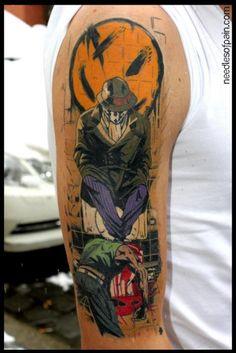 Great tattoo, artist unknown