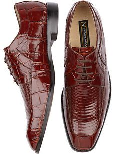Stacy Adams Cognac Lace-Up Shoes - I think I need these