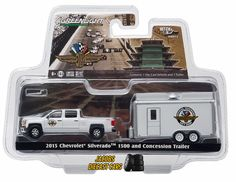 1:64 GREENLIGHT HITCH AND TOW SERIES 6  - 2015 CHEVROLET SILVERADO 1500 and CONC #GreenLight #Chevrolet
