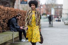 Luxe in London - Check Out The Fiercest Street Style Moments From London Fashion Week