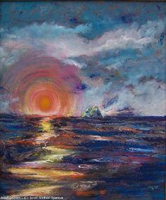 Artwork >> Scott Andrew Spencer >> Tomorrow #artwork, #masterpiece, #painting, #contemporary, #art