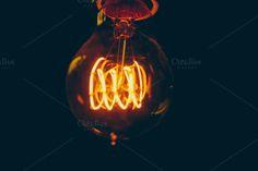 Check out Golden Edison Bulb by Matt Jones Photography on Creative Market