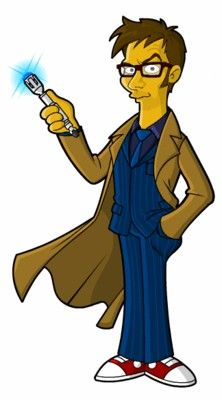 Doctor Who-Simpsons style