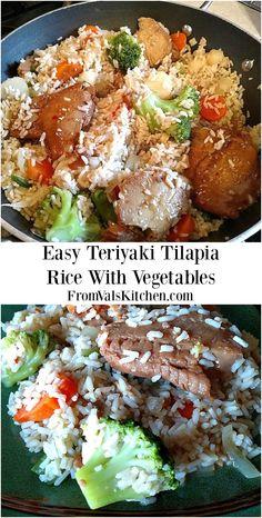 Easy Teriyaki Tilapi