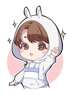 Chibi 123 48 Beautiful Jungkook Bts France On Jungkook Fanart, Kpop Fanart, Bts Chibi, Cute Anime Chibi, Kawaii Anime, Kawaii Chibi, Bts Cute, Jungkook Cute, Jimin