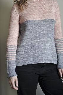 Opera - 5.00 EUR  Opera is a pullover perfect to draw attention to your waist, thanks to the subtle stripes at the elbow.
