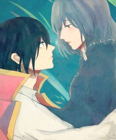 Howl's moving castle >< Sophie and howl ♡