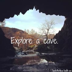 I've actually done this. Kelly Hill caves on Kangaroo Island. We all have a bucket list, whats on yours?