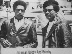 Bobby Seale and Bunchy Carter. Bobby Seale, Photo Exhibit, Black Panther Party, Malcolm X, Power To The People, Civil Rights Movement, All Black Everything, African American History, Black Power