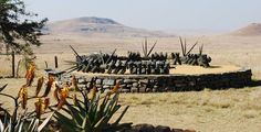 Zulu memorial at Isandlwana on the Battlefields Route, Free State, South Africa. South Africa Tourist Attractions, South Afrika, Free State, Kwazulu Natal, Where To Go, Places To Go, Tours, Explore, African